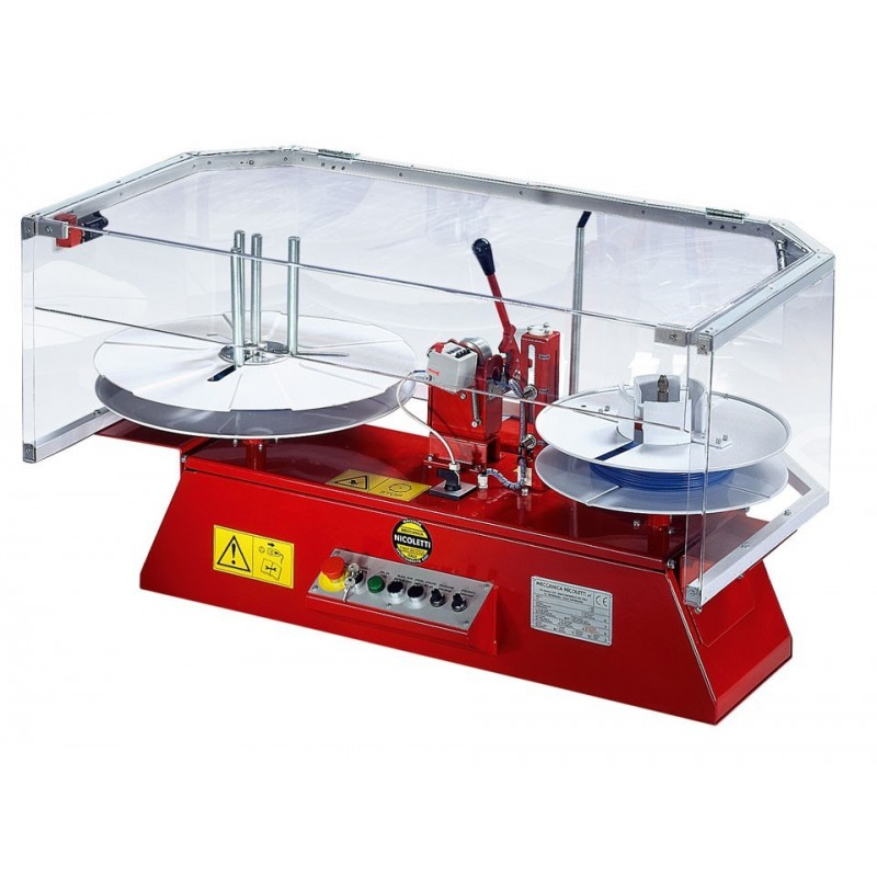 Item no. 04-MA - Automatic coiler/uncoiler