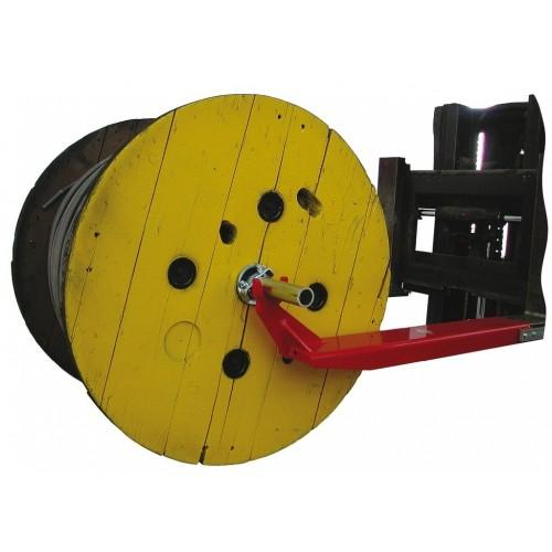 Drum brackets for use on forklift