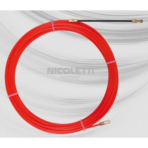 Einziehband aus Nylon Ø3 mit festen Endstücken