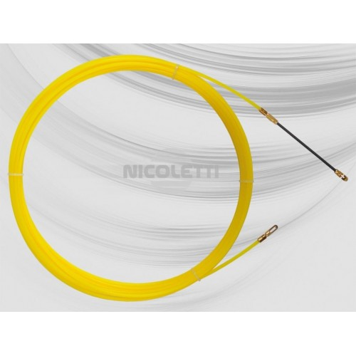 Nylon Ø4 duct rod with interchangeable ends
