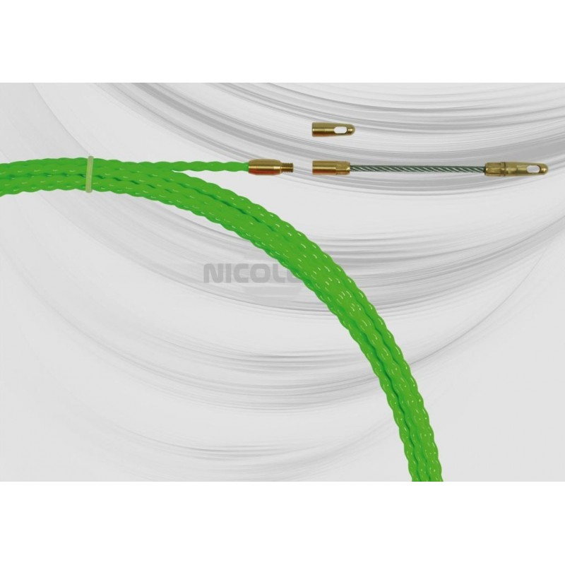 Polyester ø5.8 mm helically wound duct rod
