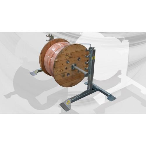 Art. SM-12 - Cavalletti svolgi bobine bobine max Ø1600mm