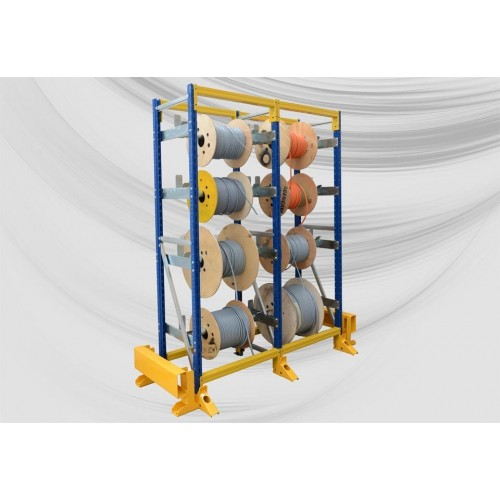Light racking for manual or low-speed payoff