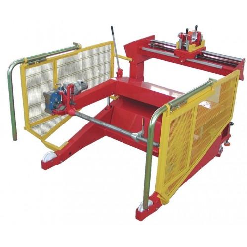 Item no. CD22-M3 - Weight capacity 4000 kg - Drums min. Ø 800mm max. Ø 2200mm