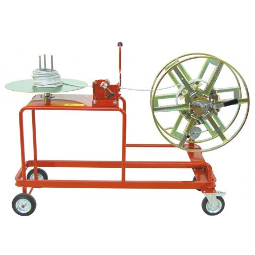 Item no. AS-19 - Coil-to-coil rewinder