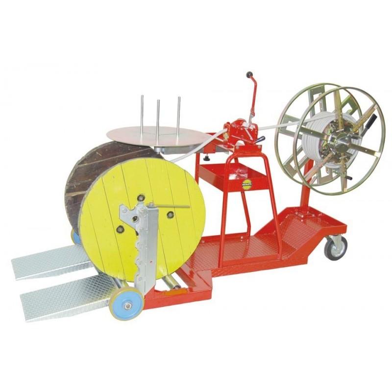 Art. ASB-1 - Enrolladora de bobina a madeja y de madeja a madeja