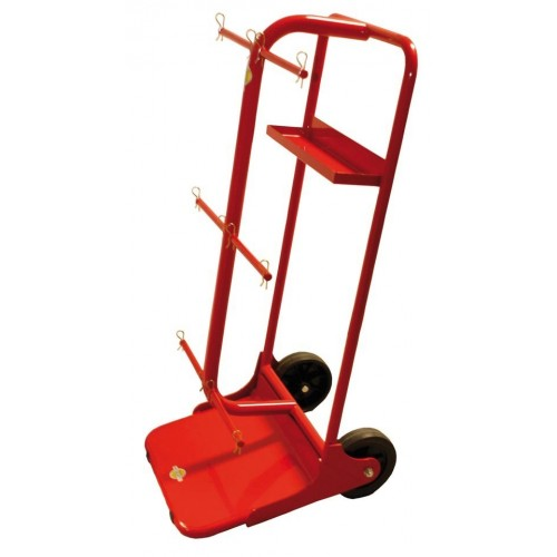Item no. CAR-6B - Spool trolley max. Ø  400mm, bore min. Ø 18.