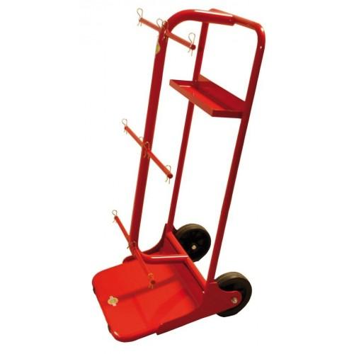 Item no. CAR-6B - Spool trolley max. Ø  400mm, bore min. Ø 18.