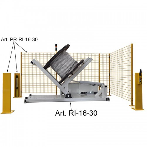Item no. RI/16/30 - TIP-UP UNIT - DRUMS MAX. Ø 1600 MM - WEIGHT CAPACITY 3000 KG