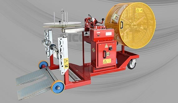 DRUM WINDERS/COILERS - MOTORIZED MOBILE STAND-MOUNTED - COILS Ø700MM DRUMS Ø1250MM