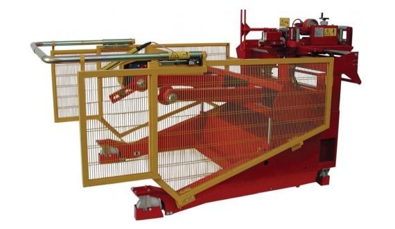ITEM NO. CD-22/M3/BM - Weight capacity 4000 kg - Drums min. Ø 800mm max. Ø 2200mm