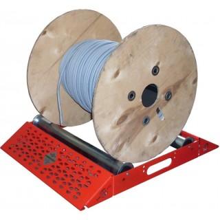 Art. 06/SL  - Svolgi bobine a rulli leggero - Larghezza max 520mm - Portata 200 kg