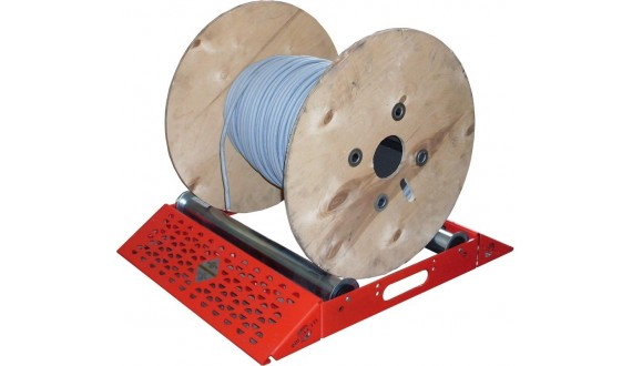 Art. 06/SL - Desbobinadora de rulos ligera - Anchura máx. Ø520 mm - Capacidad de carga 200 kg