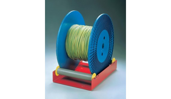 Item no. RS-14  - Light spool roller - Spools max. Ø400mm - Weight capacity 30kg