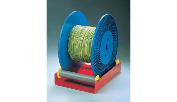 Art. RS-14 - Svolgi bobine a rulli leggero - Bobine max Ø400mm - Portata 30Kg