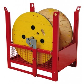 Item no. CONBOB - Stackable drum payoff cage
