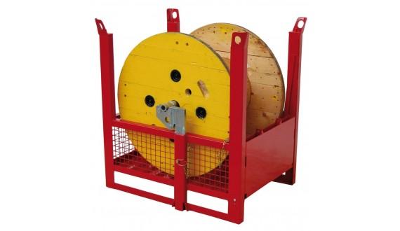 Item no. CONBOB - Stackable drum payoff cage