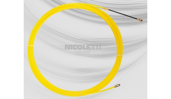 Nylon Ø4 duct rod with fixed ends