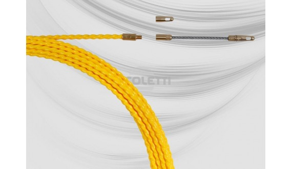 Polyester ø5.2 mm helically wound duct rod