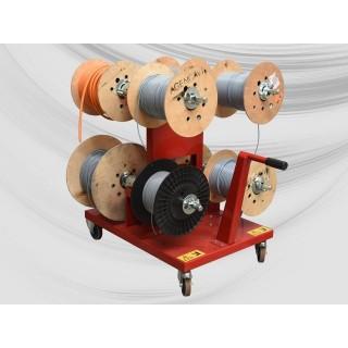 Art. CAR-PB-MECS-8 - Carrello porta bobine Ø max 500mm