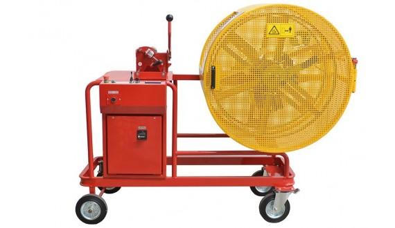 Art. ASM-16-R/V - Enrolladora motorizada sobre madeja