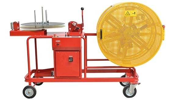 COIL-COIL REWINDERS - MOTORIZED MOBILE STAND-MOUNTED - COILS Ø700