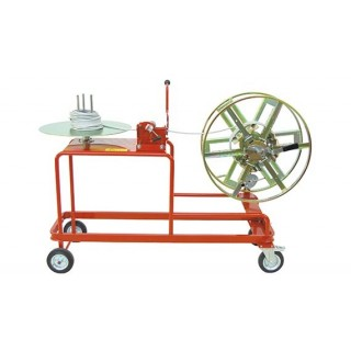 COIL-COIL REWINDERS - HAND-OPERATED MOBILE STAND-MOUNTED - COILS Ø700