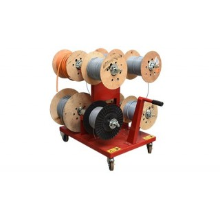 MOBILE STAND-MOUNTED DRUM PAYOFFS FOR DRUMS MAX. Ø500MM