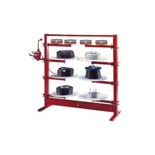 LIVE STORAGE RACK COILS AND SMALL DRUMS