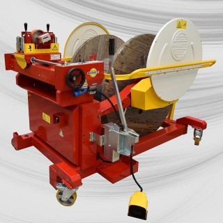 Item no. BOB-MAT-U12 - Drum winder/coiler