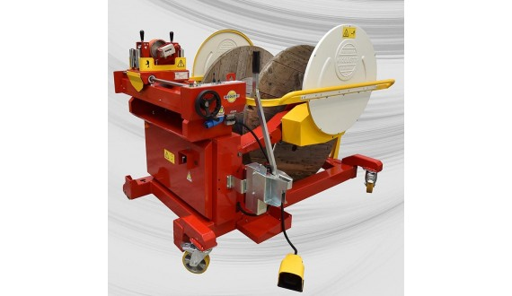 Item no. BOB-MAT-U12 - Drum winder/coiler