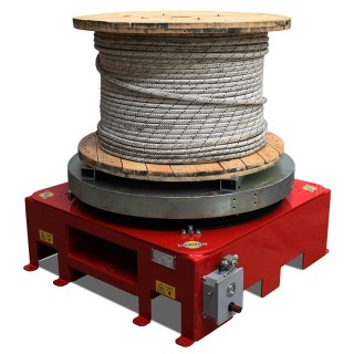 DRUM TURNTABLES - Weight capacity 2000 kg