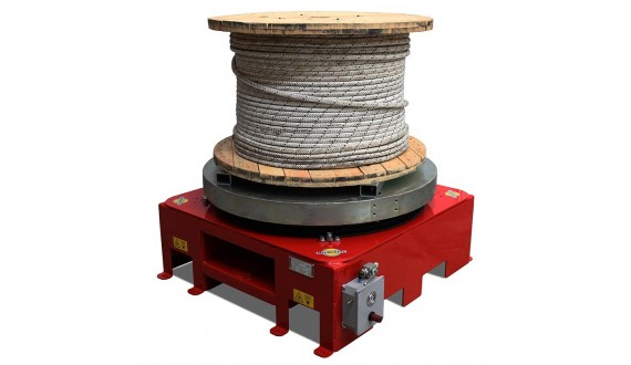 DRUM TURNTABLES - Weight capacity 4000 kg
