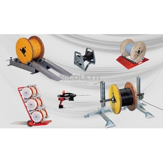 Cable laying equipment and payoffs for installers