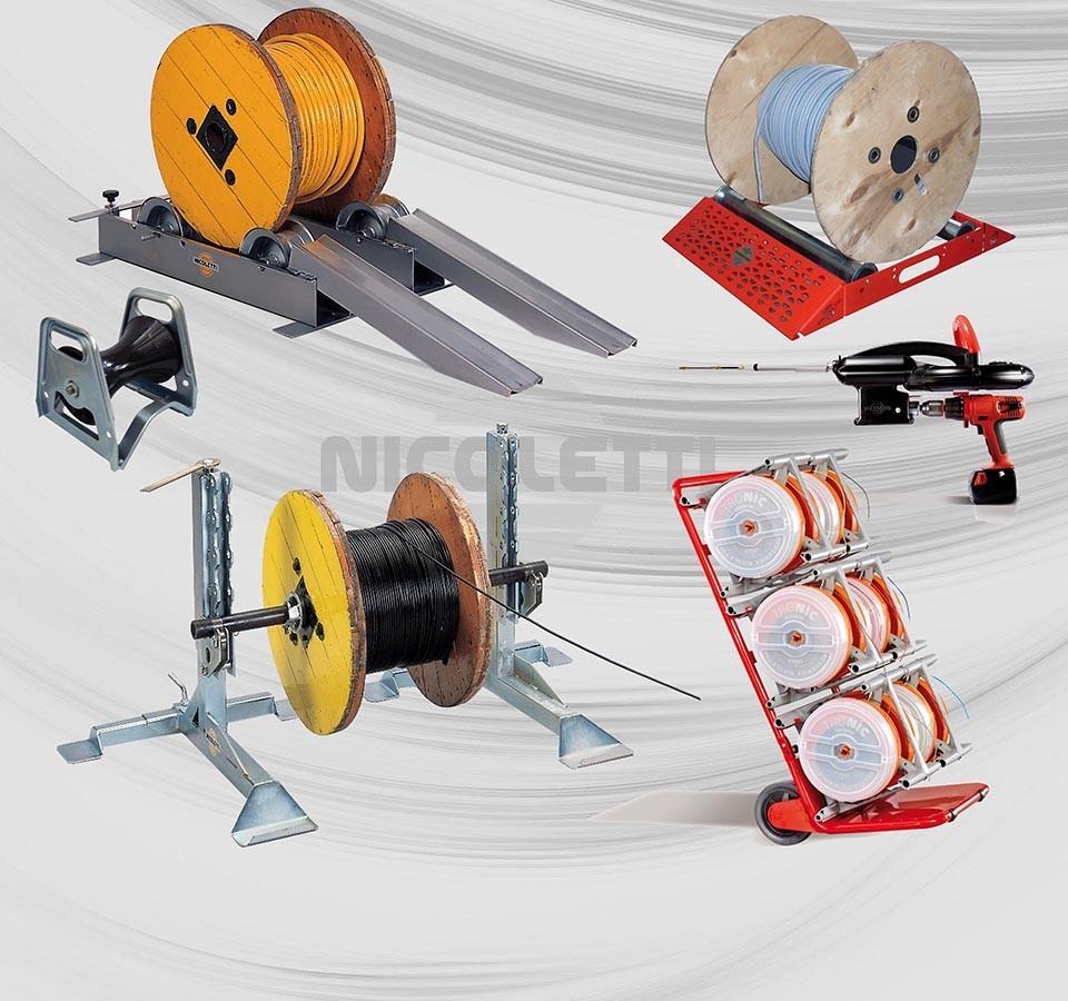 Dérouleurs et matériel de chantier pour les installateurs